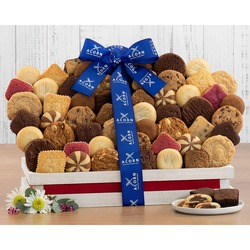 Canasta de Regalo de Galletas Recién Horneadas y Brownie